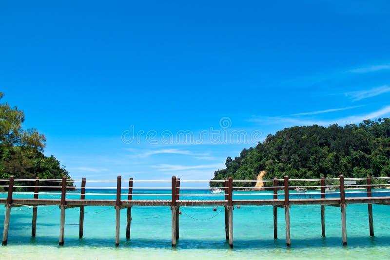 Pilier dans votre rêve de vacances image stock