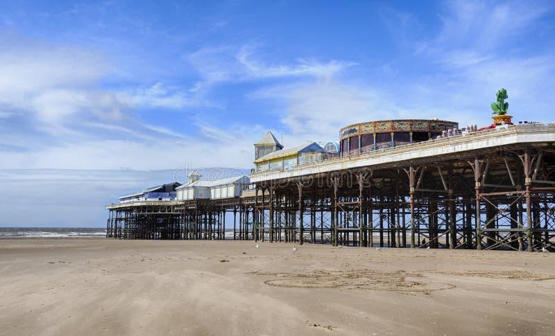 Pilier de Blackpool image libre de droits