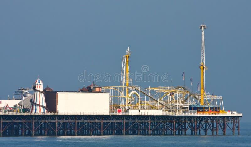 Pilier de Brighton image libre de droits