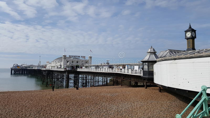 Pilier de Brighton en Angleterre photo stock