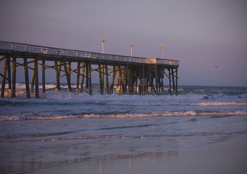 Pilier de Daytona Beach photos stock