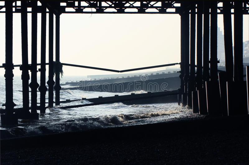 Pilier de Hastings images stock