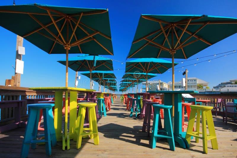 Pilier de Key West image stock