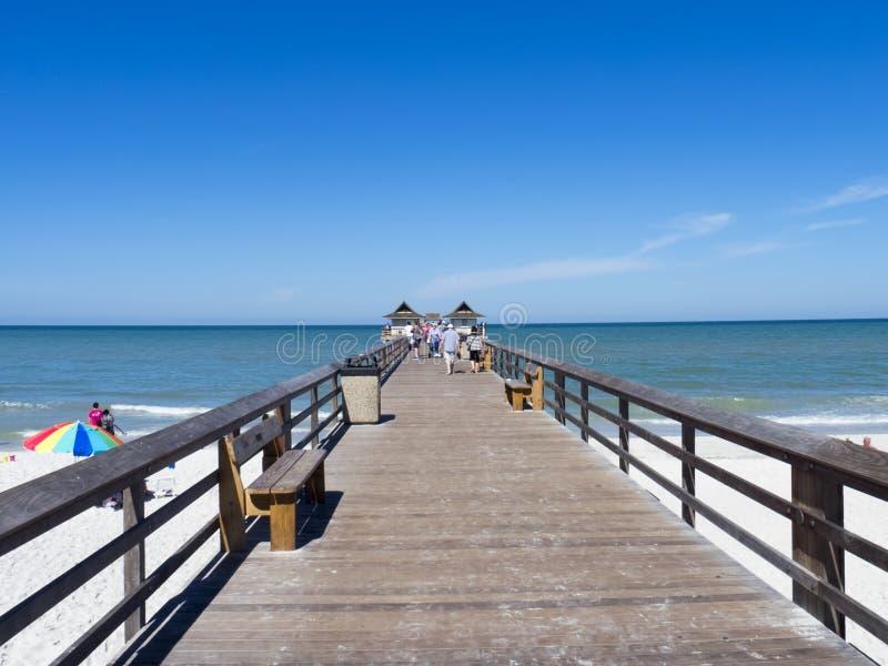 Pilier de Naples, la Floride photographie stock libre de droits