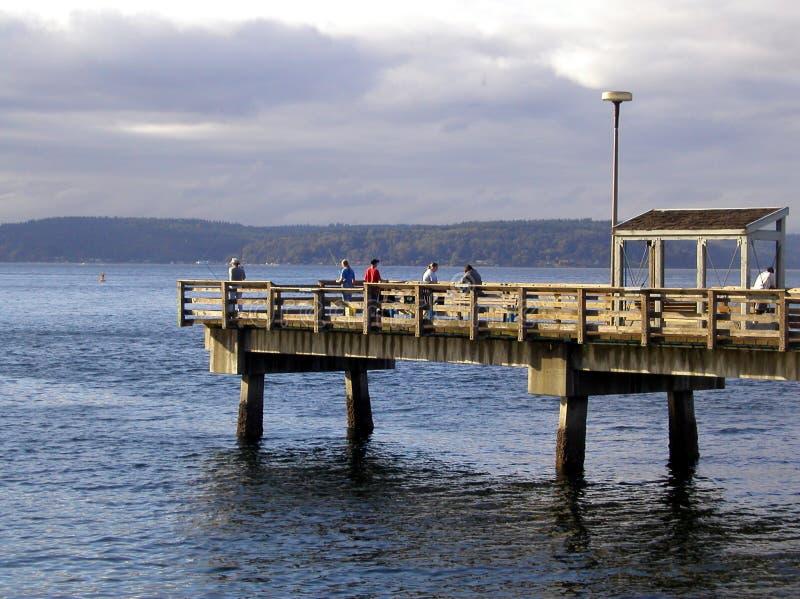 Pilier De Pêche Photos stock