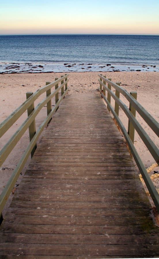 Pilier de plage image libre de droits