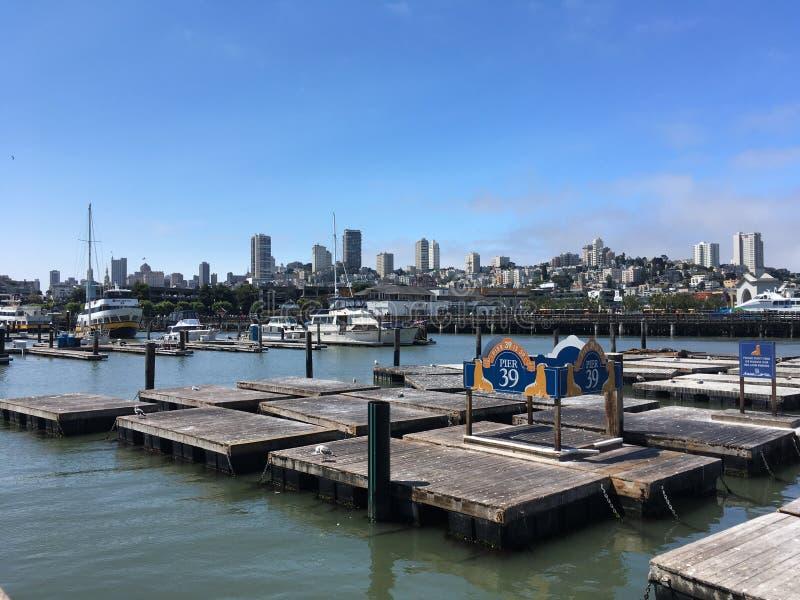 Pilier 39 de San Francisco photo libre de droits