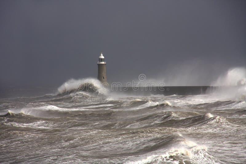 Pilier de Tynemouth photos stock