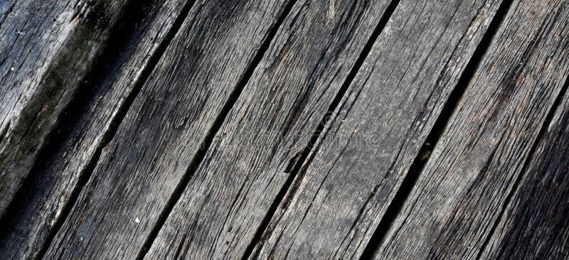 Pilier en bois, texture abstraite d'un gris naturel photographie stock