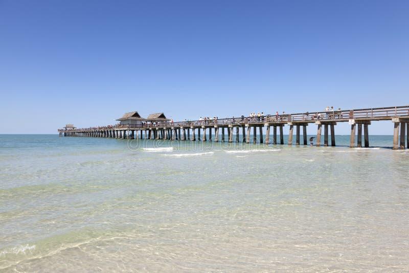 Pilier historique à Naples, la Floride image libre de droits
