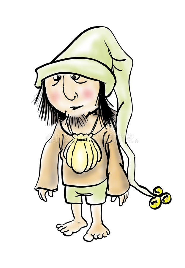 Download Piligrim Cartoon Illustration Stock Photography - Image: 29520292