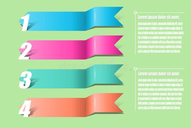 Pilinfographics Mall för diagrammet, graf, presentation a arkivbild