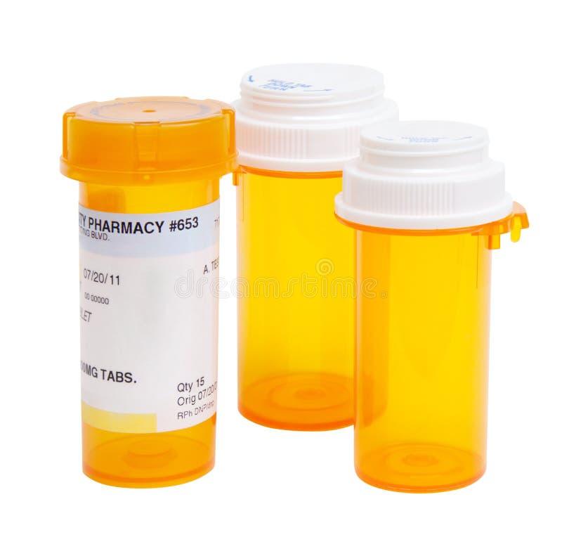 Pill Bottles royalty free stock image