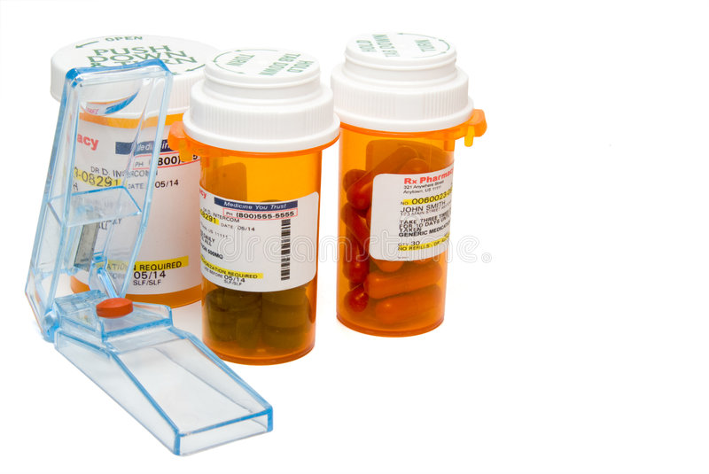Download Pill Cutter stock photo. Image of bottle, health, care - 7066698