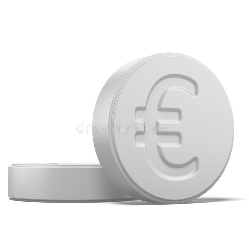 Download Pill with euro sign stock illustration. Image of concepts - 38136646