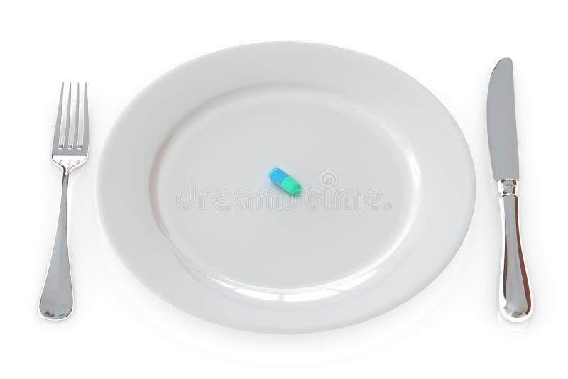 Download Pill Meal stock illustration. Illustration of background - 10938038