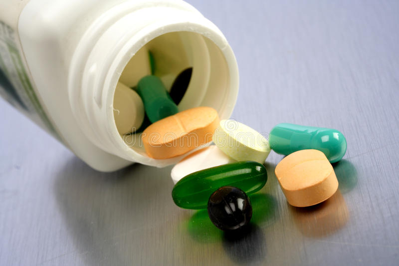 Download Pill spill stock image. Image of care, medicine, healthy - 23071467