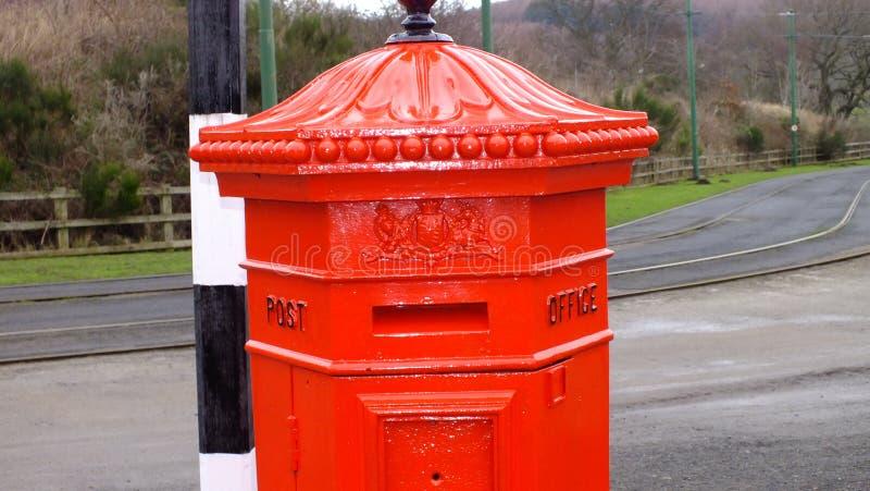Pillar Box 2 stock images