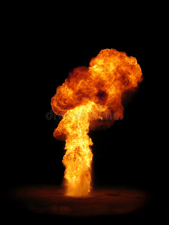 pillar of fire royalty free stock photography