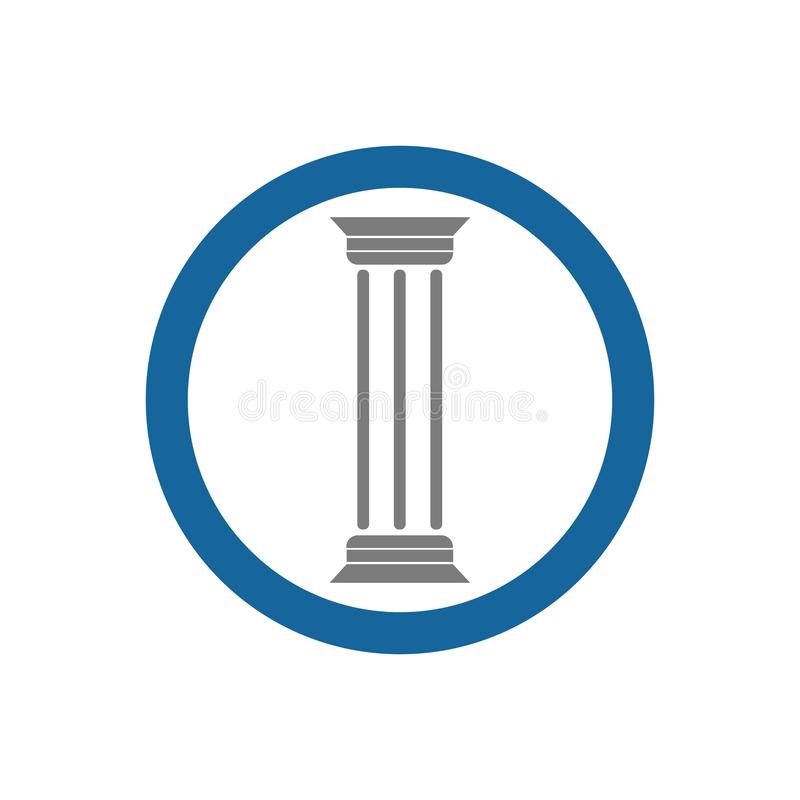 pillar vector illustration