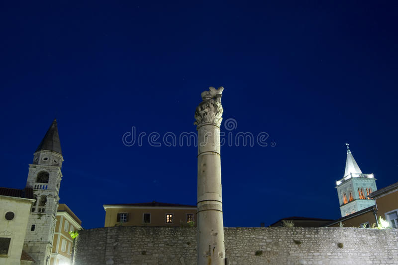 Download The Pillar Of Shame At Dusk Stock Photo - Image: 20747310