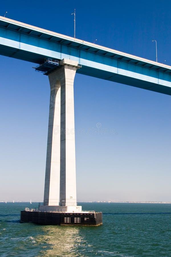 Download Pillar Of A Tall Bridge Royalty Free Stock Photos - Image: 14004908
