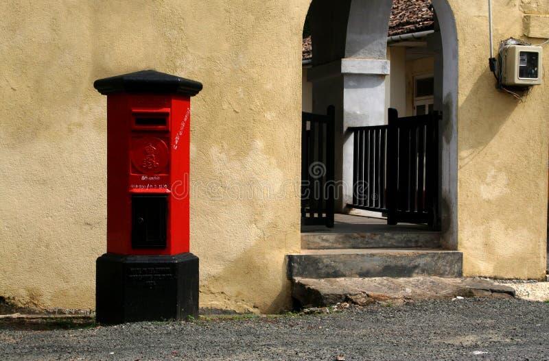 Pillarbox colonial fotos de archivo