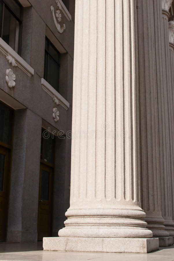 Pillars. The photo is stone Pillars, close up royalty free stock images
