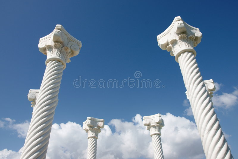 Pillars / Columns royalty free stock photography