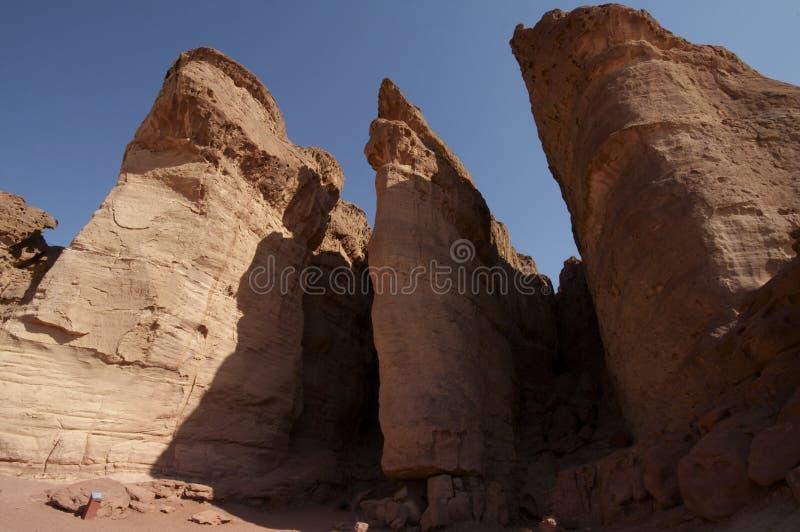 Pillars de rey Solomon fotografía de archivo
