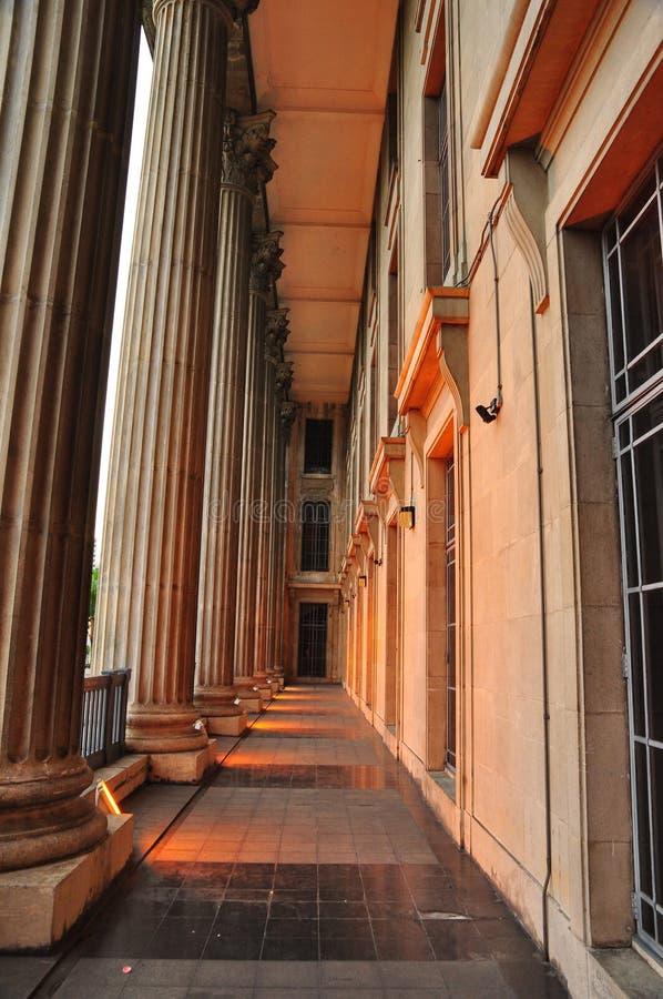 Pillars of Historic Building