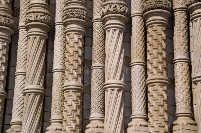 Pillars of Interest royalty free stock image