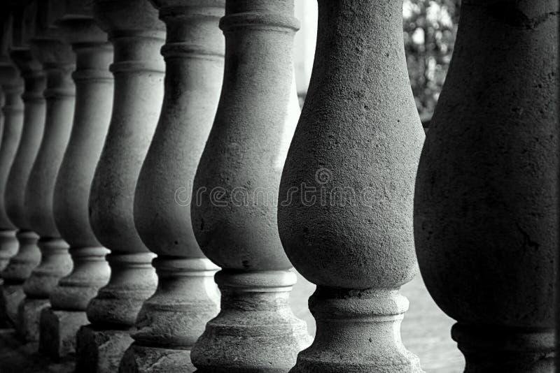 Pillars stock photography