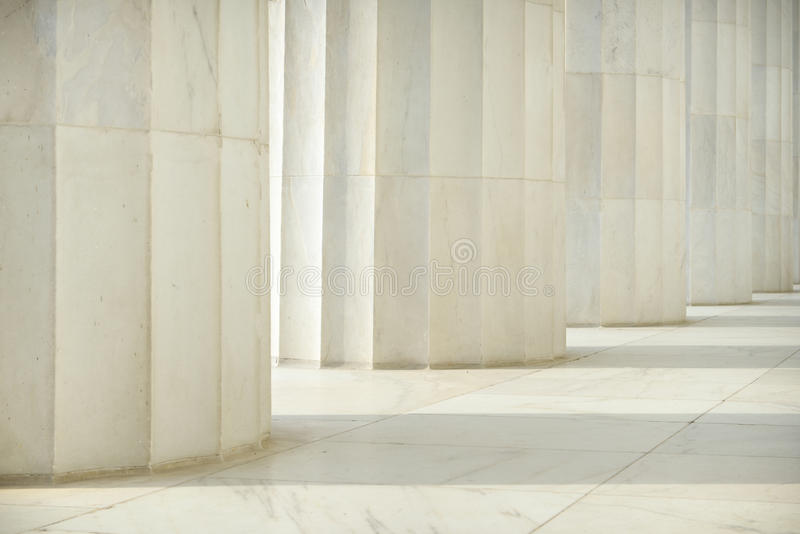 Pillars In A Row Royalty Free Stock Images