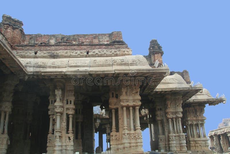 Pillars And Sub Pillars Stock Image