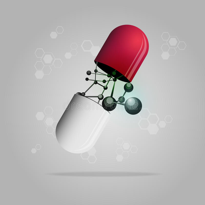 Pille lizenzfreie abbildung