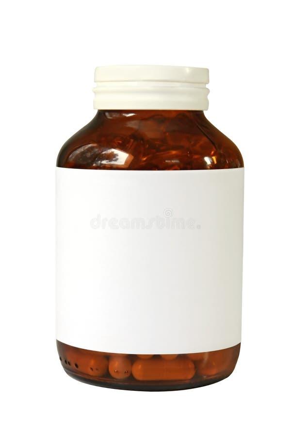 Pille-Flasche Lizenzfreies Stockbild