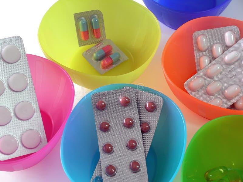 Pille-Tabletten lizenzfreie stockbilder