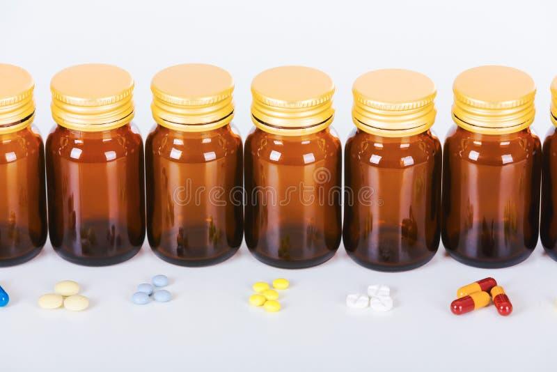 Pillen royalty-vrije stock fotografie