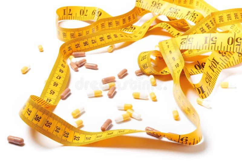 Pillencapsules van geneesmiddel stock afbeelding