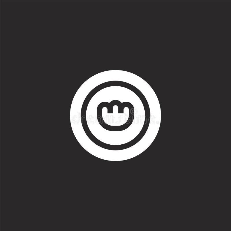 Pillenikone Gefüllte Pillenikone für Websiteentwurf und Mobile, Appentwicklung Pillenikone von gefüllter Haustiersammlung lokalis vektor abbildung
