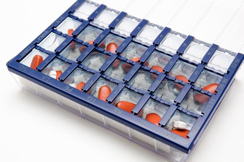 Pilleplaner stockbilder