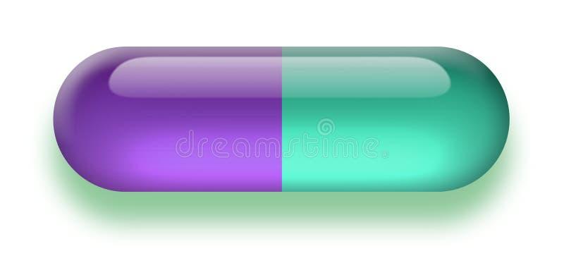 Download Pillola illustrazione di stock. Illustrazione di pillola - 3883452