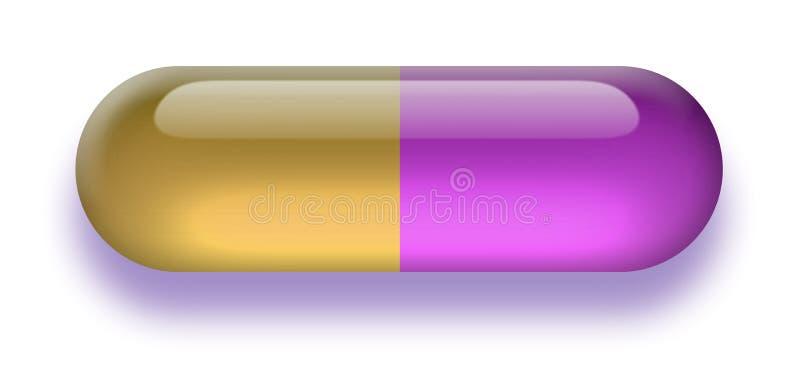 Download Pillola illustrazione di stock. Illustrazione di medicina - 3883458