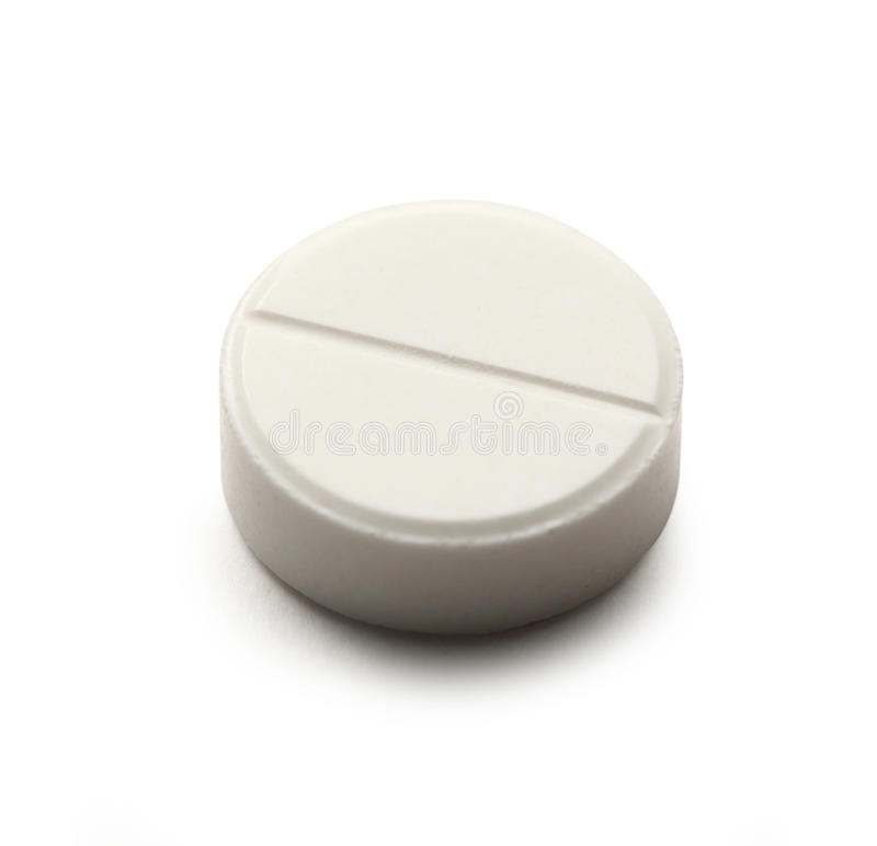 Pillola di Aspirin immagini stock libere da diritti