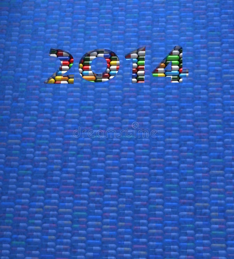 Pillole 2014 fotografia stock libera da diritti