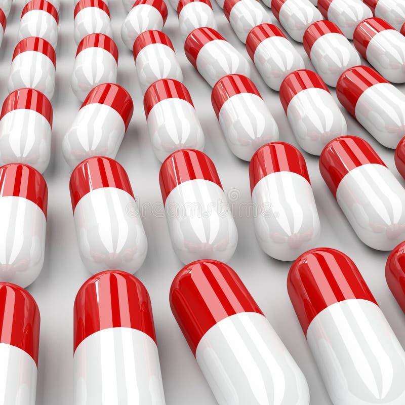 Download Pillole 3d illustrazione di stock. Illustrazione di bottiglia - 7307994