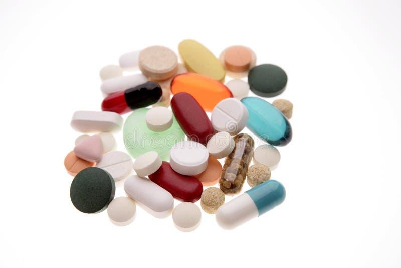 Pillole Assorted fotografia stock