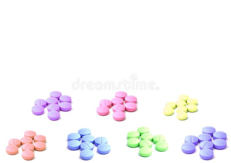 Pillole Colourful immagini stock