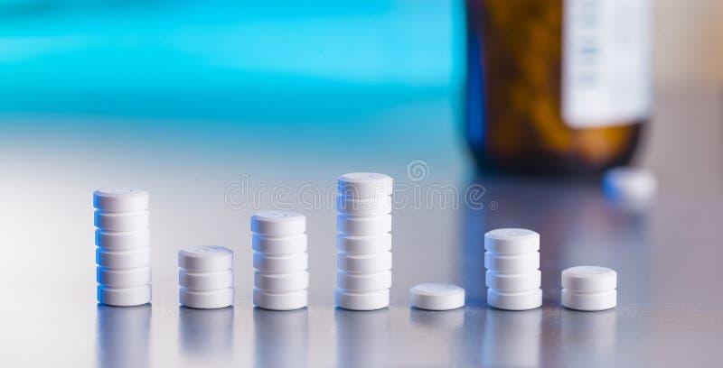 Pillole craphic immagini stock libere da diritti